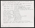 View Photograph of Sonia Gechtoff and others in basement of San Francisco Museum of Modern Art digital asset: verso
