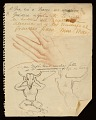 View Various notes/sketches on Picasso? digital asset number 19