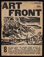 View <em>Art Front</em> magazine digital asset: cover