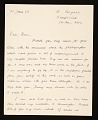 View Anthony Caro letter to Clement Greenberg digital asset number 0