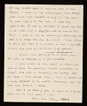 View Anthony Caro letter to Clement Greenberg digital asset: verso