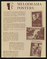 View Advertisement for theatrical poster reproductions digital asset number 0