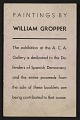 View Paintings by William Gropper digital asset: cover