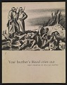 View Your Brother's Blood Cries Out: Eight Drawings by William Gropper digital asset: cover