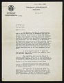 View Edward Beatty Rowan, Washington, D.C. letter to Chaim Gross, New York, N.Y. digital asset: page