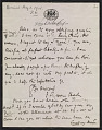 View Francis Seymour Haden letter to Frederick Keppel digital asset number 0