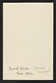 View David Evison christmas card to Piri Halasz digital asset: verso