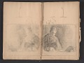 View Ellen Day Hale sketchbook digital asset: pages 13