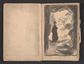 View Ellen Day Hale sketchbook digital asset: pages 14