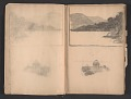 View Ellen Day Hale sketchbook digital asset: pages 15