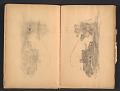 View Ellen Day Hale sketchbook digital asset: pages 19