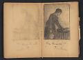 View Ellen Day Hale sketchbook digital asset: pages 25