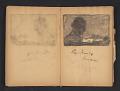 View Ellen Day Hale sketchbook digital asset: pages 26