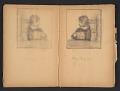 View Ellen Day Hale sketchbook digital asset: pages 40