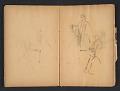View Ellen Day Hale sketchbook digital asset: pages 42