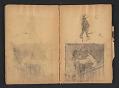 View Ellen Day Hale sketchbook digital asset: pages 48
