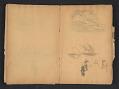 View Ellen Day Hale sketchbook digital asset: pages 54