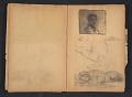 View Ellen Day Hale sketchbook digital asset: pages 56