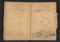 View Ellen Day Hale sketchbook digital asset: pages 57