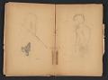 View Ellen Day Hale sketchbook digital asset: pages 59