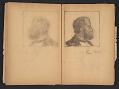 View Ellen Day Hale sketchbook digital asset: pages 63
