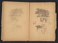 View Ellen Day Hale sketchbook digital asset: pages 64