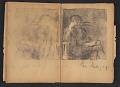 View Ellen Day Hale sketchbook digital asset: pages 68