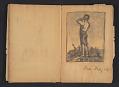 View Ellen Day Hale sketchbook digital asset: pages 74