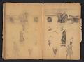 View Ellen Day Hale sketchbook digital asset: pages 75