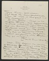 View Charles Roswell Bacon letter to Philip Leslie Hale digital asset number 0
