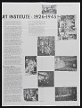 View School of the Art Institute of Chicago newsletter, volume one, issue 2 digital asset: inside