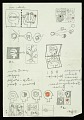 """View Frederick Hammersley notes on """"An idea"""" digital asset number 4"""