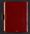 View Frederick Hammersley diary digital asset: cover back
