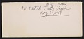 View Documents relating to Duane Hanson's appearance on <em>To tell the truth</em> digital asset: envelope