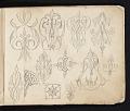 View William Michael Harnett sketchbook digital asset: sketch 6