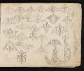View William Michael Harnett sketchbook digital asset: sketch 9
