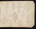 View William Michael Harnett sketchbook digital asset: sketch 11