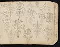 View William Michael Harnett sketchbook digital asset: sketch 19