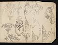 View William Michael Harnett sketchbook digital asset: sketch 23