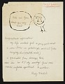 View Managing editor Russell Lynes correspondence with artists, 1946-1965 digital asset number 0