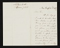 View Albert Bierstadt, New Bedford, Mass. letter to John Durand, New York, N.Y. digital asset number 0