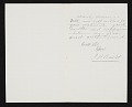 View John Bunyon Bristol, New York, N.Y. letter to Asher Brown Durand, New York, N.Y. digital asset: verso
