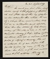 View John Henri Isaac Browere, New York, N.Y. letter to unidentified recipient, New York, N.Y. digital asset number 0