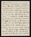 View John Henri Isaac Browere, New York, N.Y. letter to unidentified recipient, New York, N.Y. digital asset number 3