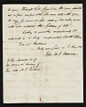 View John Henri Isaac Browere, New York, N.Y. letter to unidentified recipient, New York, N.Y. digital asset number 6