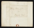View Mather Brown letter to unidentified recipient digital asset number 1