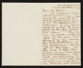 View F. B. (Francis Bicknell) Carpenter, New York, N.Y. letter to Charles Henry Hart digital asset number 0
