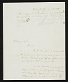 View J. G. (John Gadsby) Chapman, Washington, D.C. letter to F. B. (Francis Bicknell) Carpenter, Philadelphia, Pa. digital asset number 0