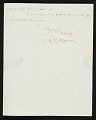 View J. G. (John Gadsby) Chapman, Washington, D.C. letter to F. B. (Francis Bicknell) Carpenter, Philadelphia, Pa. digital asset number 2