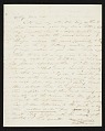 View Thomas Doughty, Boston, Mass. letter to Asher Brown Durand, New York, N.Y. digital asset number 0
